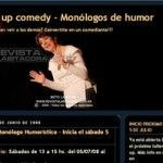 Stand Up Comedy, Monólogos de Humor
