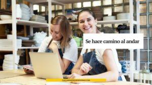 Se hace camino al andar: Web Motivacional para Emprendedores