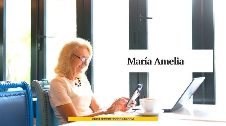 María Amelia: Chica-E y Blogger a los 95 Años