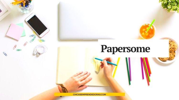 Papersome: Diseño en Papeles de Alta Gama