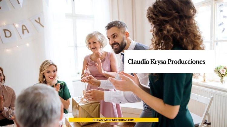 Claudia Krysa Producciones: Eventos Sociales