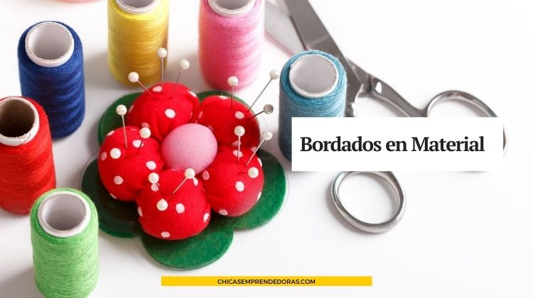 Bordados en Material, por Beatriz Ferreyra