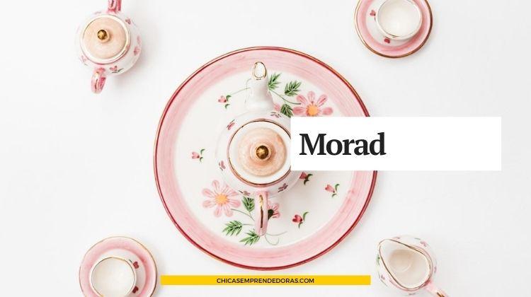 Morad: Pintura en Porcelana