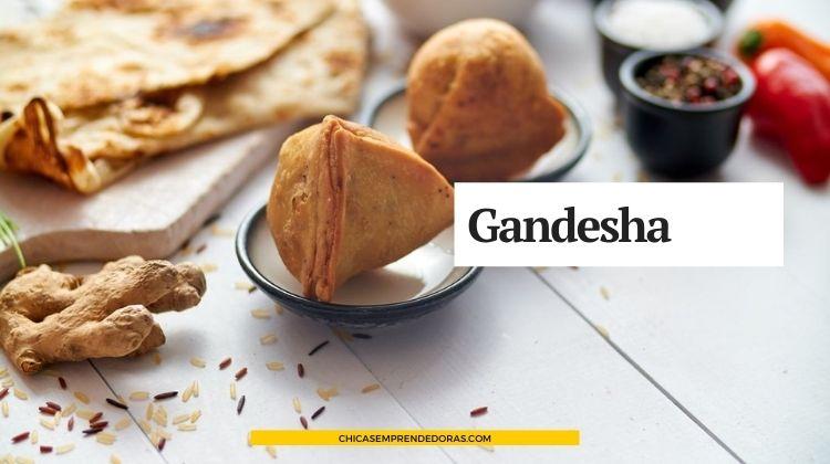Gandesha: Cenas Privadas con Comida de la India