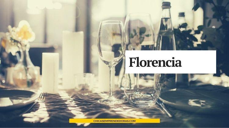 Florencia: Flores de Goma Eva