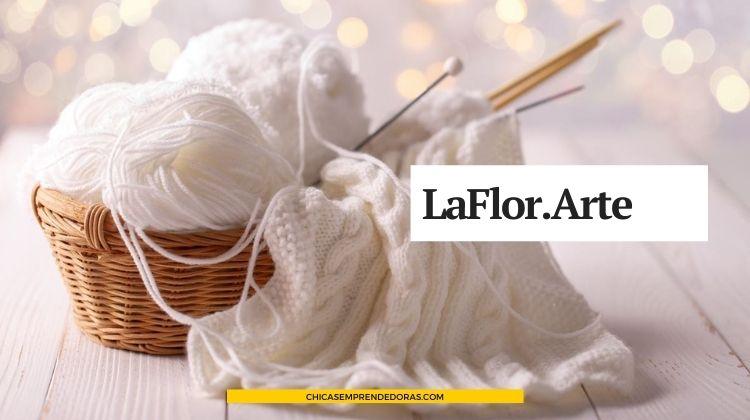 LaFlor.Arte: Tejidos a Telar, Crochet y Dos Agujas