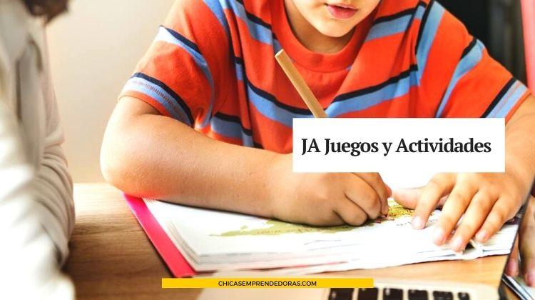 JA Juegos y Actividades: Sitio para Divertirse y Aprender