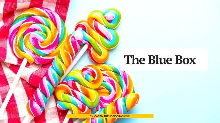 The Blue Box: Favours, Souvenirs y Recuerdos Comestibles