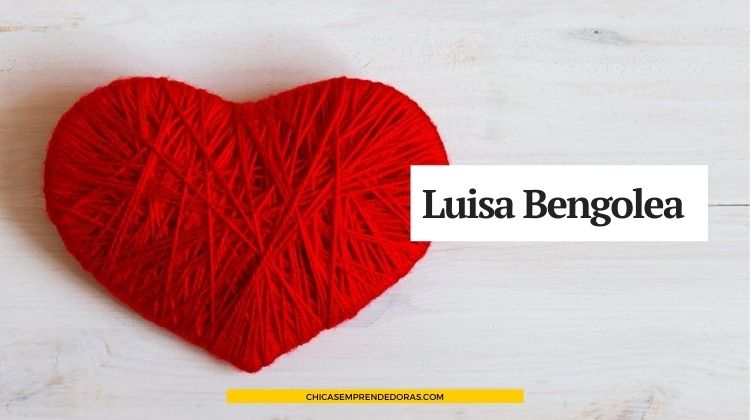 Luisa Bengolea: Mantas Tejidas a Mano