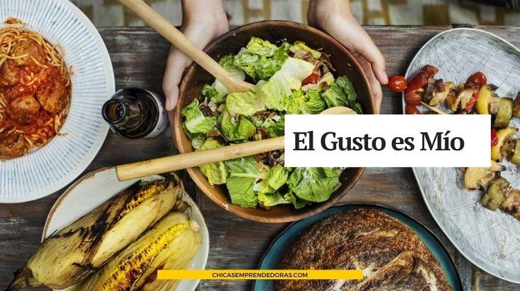 El Gusto es Mío: Red Social Para Apasionados Por la Gastronomía