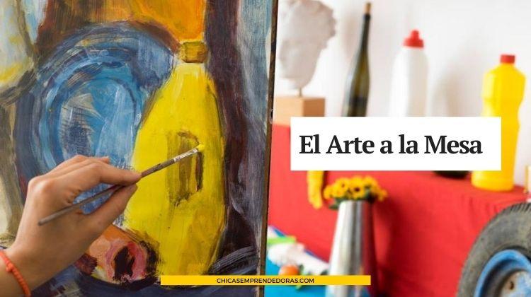 El Arte a la Mesa: Posavasos de Autor