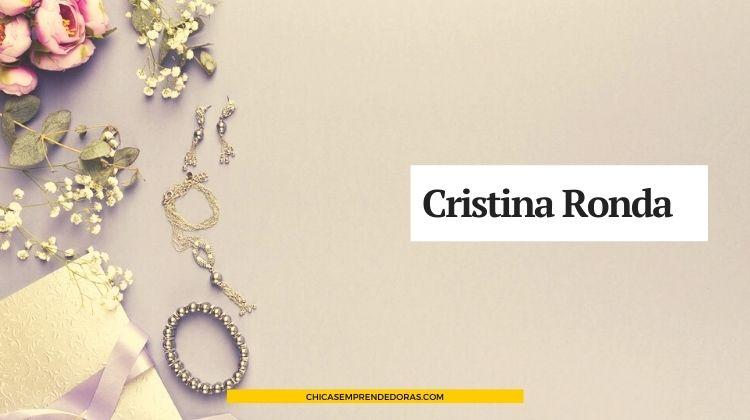 Cristina Ronda: Diseño y Armado de Bijouterie