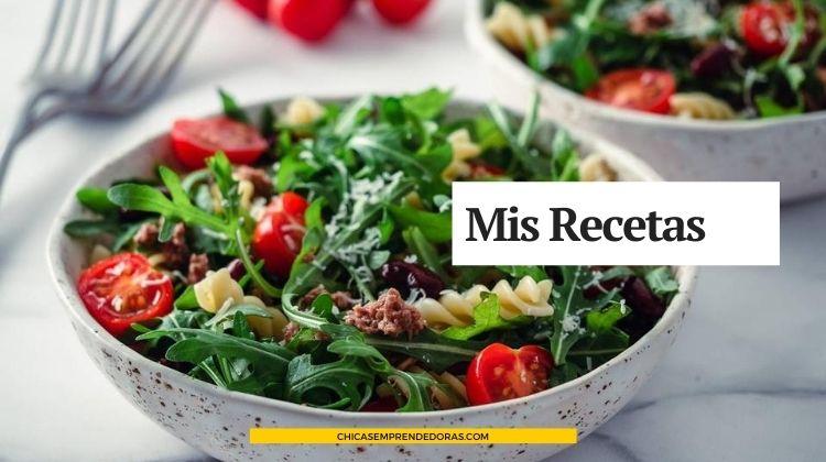 Mis Recetas Comida Hecha en Casa: Recetario Online