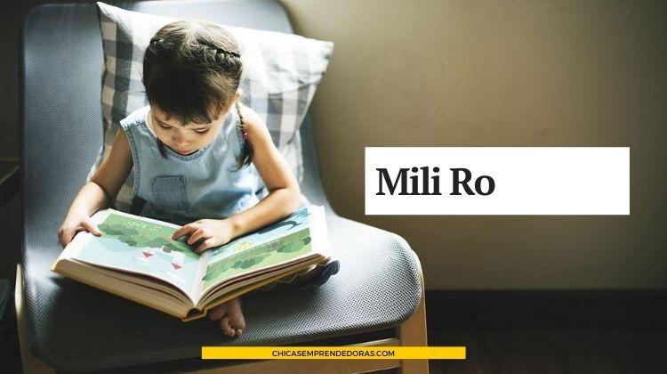 Mili Ro: Ropa de Diseño para Nenas