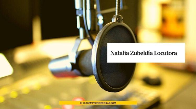 Natalia Zubeldía: Locutora Nacional - Servicios Profesionales