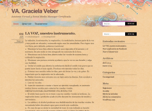 VA Graciela Veber.