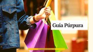 Guía Púrpura: Guía de Tiendas Online
