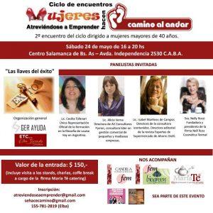 Segundo Encuentro Mujeres Atreviéndose...