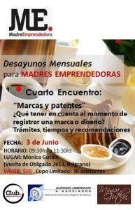 Club MadreEmprendedora. Desayuno Junio 2014.