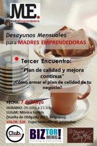 3º Desayuno del Club MadreEmprendedora.