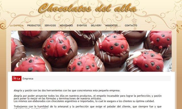 Chocolates del Alba.