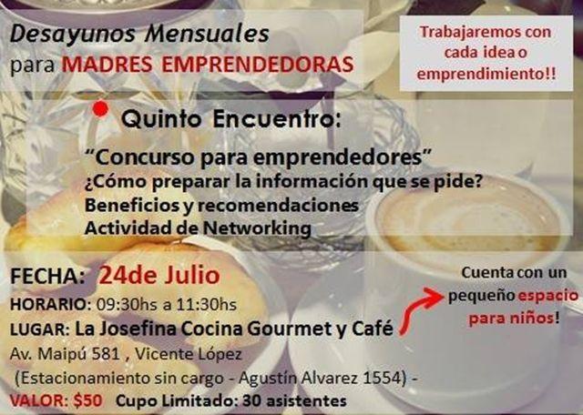 5º Desayuno para Madres Emprendedoras.