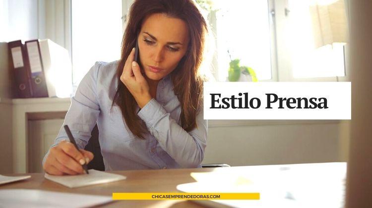 Estilo Prensa: Agencia de Prensa y Difusión