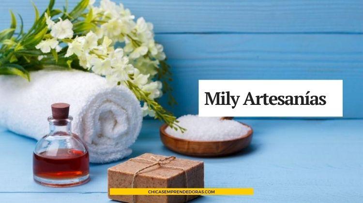 Mily Artesanías: Sales de Baño, Jabones Líquidos y Spray para Telas
