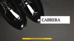Segundas Partes Fueron Buenas: CABRERA Diseño de Autor