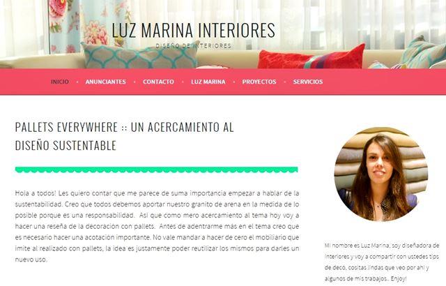 Luz Marina Interiores.