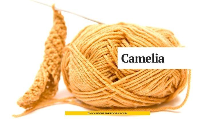 Camelia: Accesorios Hechos al Crochet