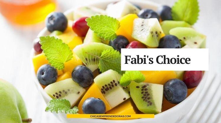 Fabi's Choice: Salud, Bienestar y Nutrición