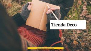 Tienda Deco: Cuadernos Artesanales