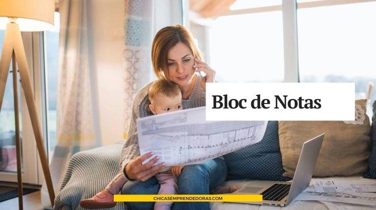 Bloc de Notas: Asesoramiento para Emprendedoras