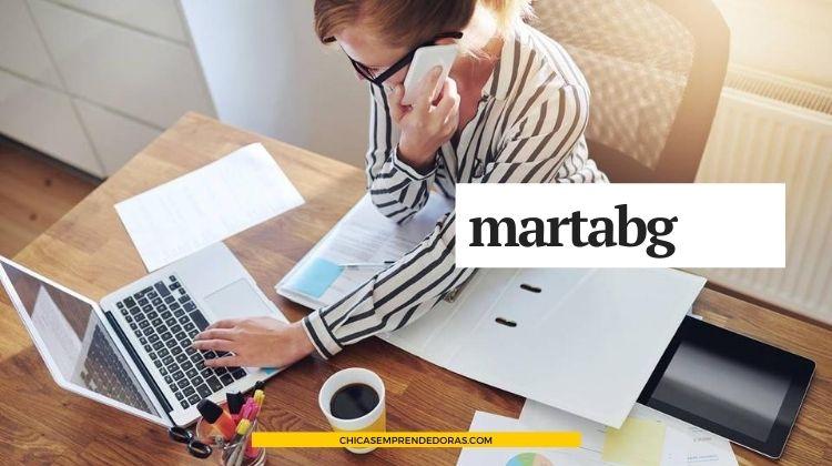 martabg.com: Diseño Gráfico para Coaches y Consultoras de Negocios