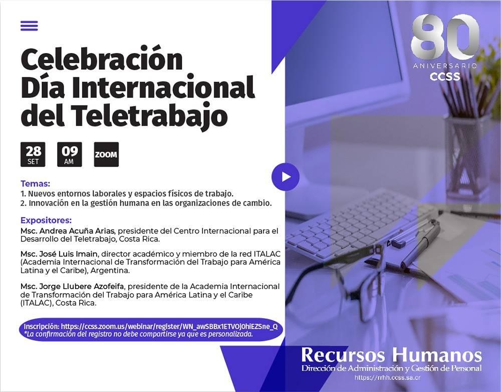"""Foro """"Celebración Día Internacional del Teletrabajo""""."""